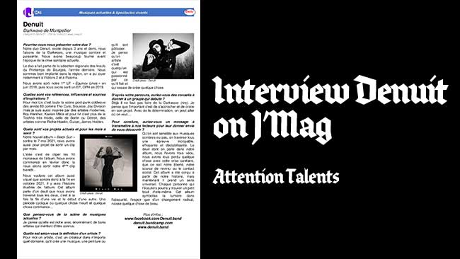 interview j'mag denuit